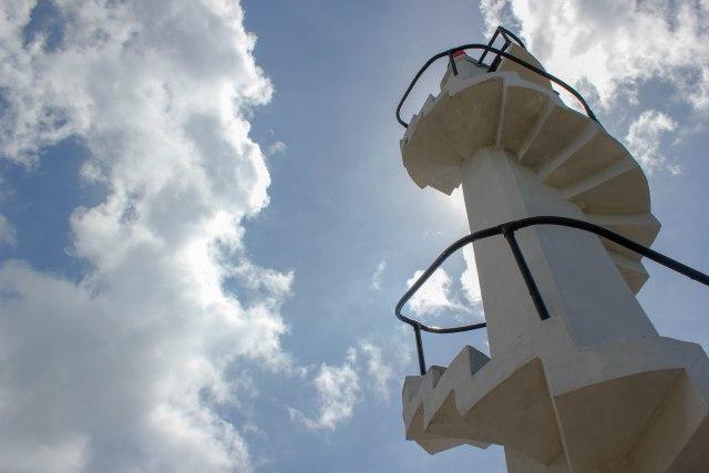 The Lighthouse of the Fuerte De La Concepcion Y Del Triunfo of Cotta Fort in Ozamiz City
