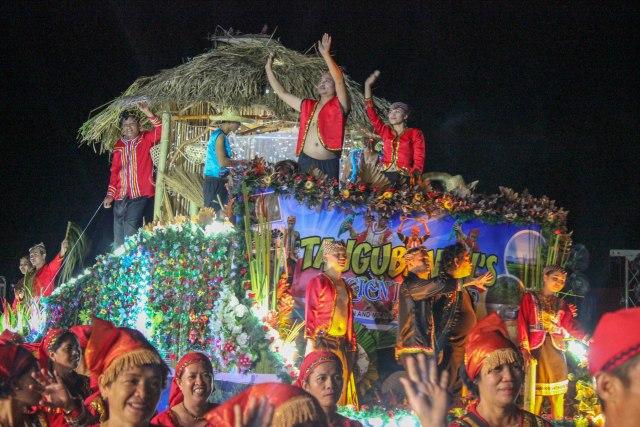 Tangub City's Stadium Lights Parade Festival