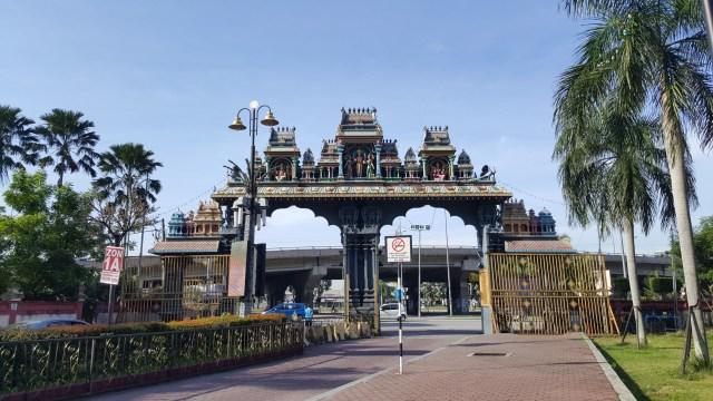 The Batu Caves Main Gate