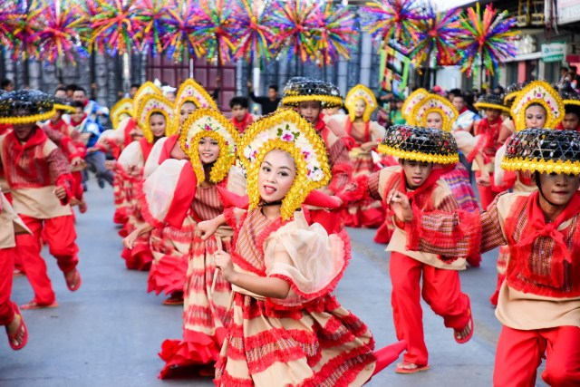 Bohol's Annual Sandugo Festival. Photo provided by the Communications Team of AirAsia Philippines.