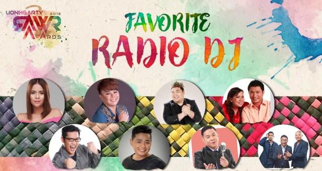 RAWR Awards Favorite Radio DJ Award