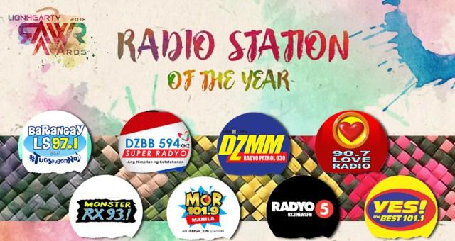 RAWR Awards Radio Station of the Year Award