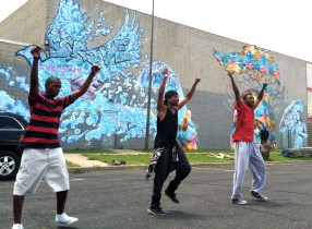 dancing for peace!