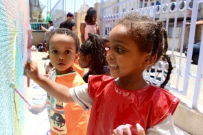 South Tel Aviv: Project at a child center for African asylum-seeker families