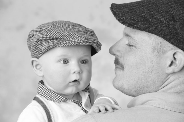 father and son highly commended