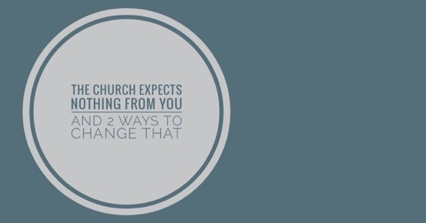 Church expects nothing