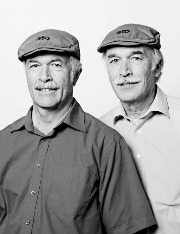 Rudi Kistler and Maurus Oehmann