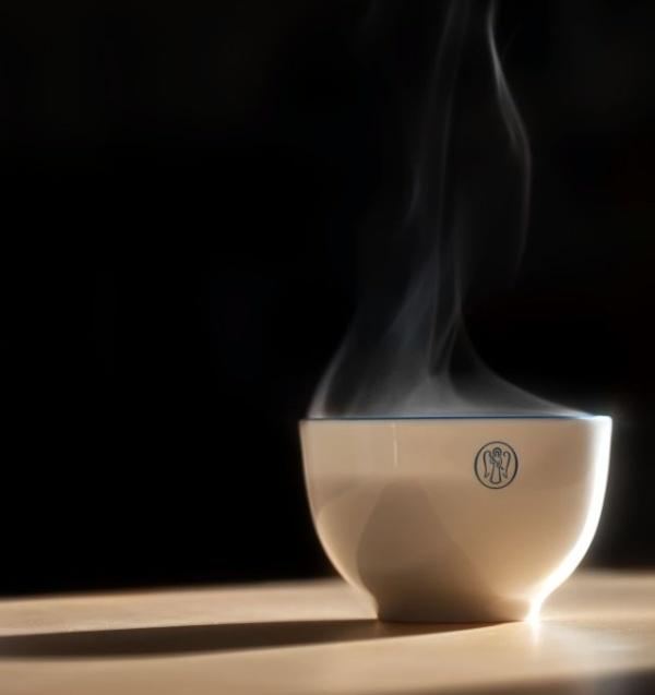 steam of coffee