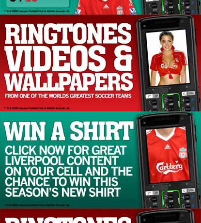 Liverpool FC Promotional Banners
