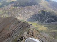 The north ridge of Crib Goch