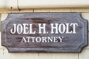 Attorney Joel Holt