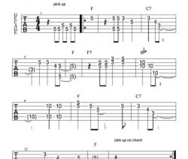 Keanae Hawaiian Steel Guitar Tablature