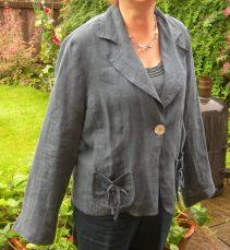 linen jacket before