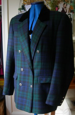 tartan jacket before
