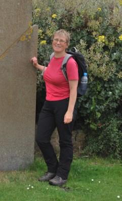 wearing walking kit again