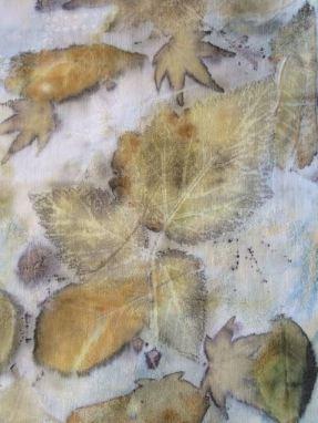 raspberry-leaf-print-on-cotton