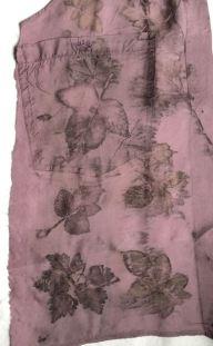 silk blouse eco print 4