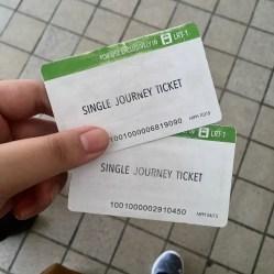 LRT tickets