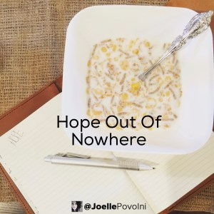 Hope Out Of No Where2