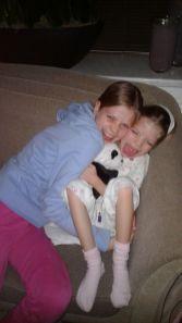 Plezier met grote zus