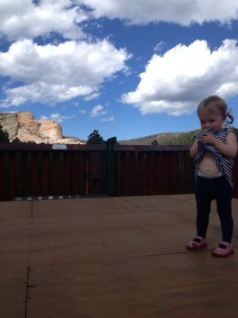 See Crazy Horse in the background?