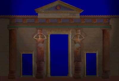 Caryatid Entrance Composite