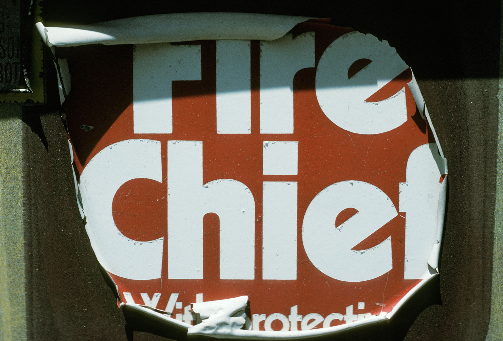 Fire Chief, photo by Joel Mason
