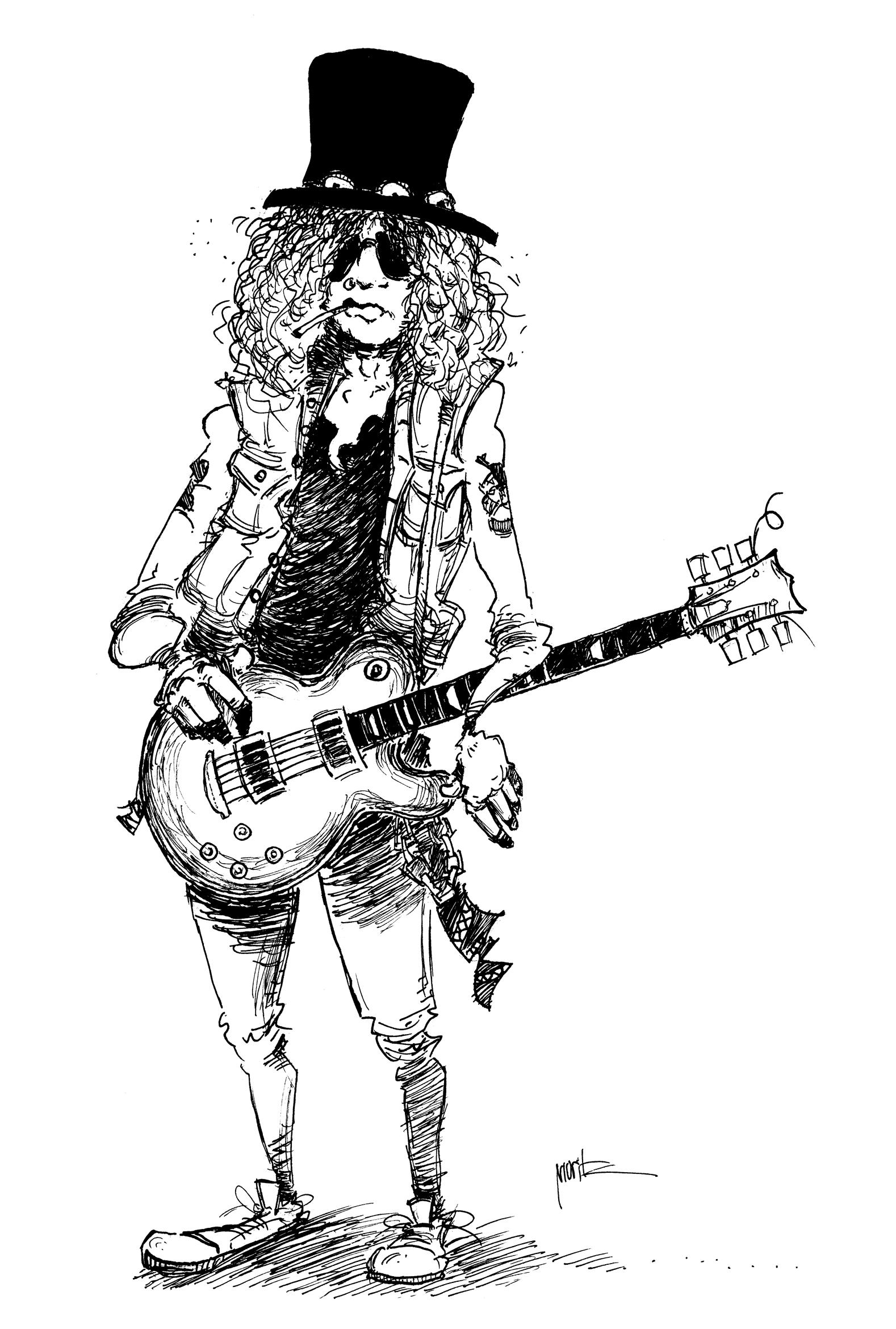 Slash artwork