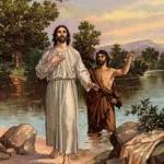 BAPTISM OF JESUS  (c) gardenof praise.com