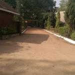 Augustinian Monastery gate, Jos, Nigeria.