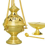 Thurible and incense boat