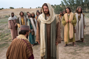 Jesus and the young rich man