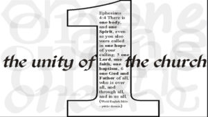 Oneness of the Church