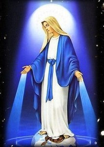 The Blessed Virgin Mary and the color blue – Joel Okojie Blog