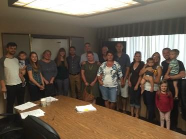 The Iowa petition team!