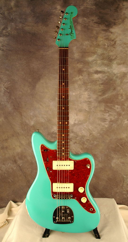 1963 Jazzmaster Refinish in Sea Foam Green  Joel A Shinn