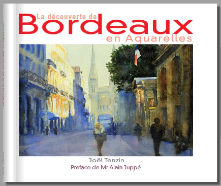 La decouverte de Bordeaux en aquarelles