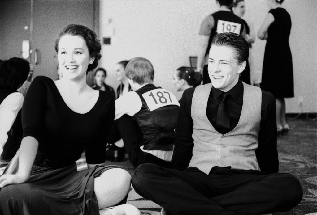 a snapshot of me at a dance competition from 2013