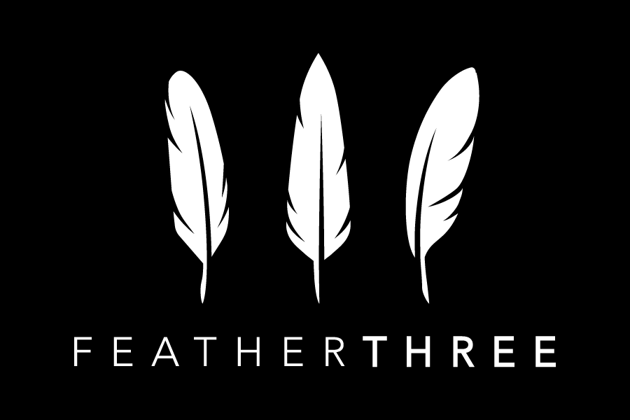 Joel Torgeson's brand Logo for Feather Three