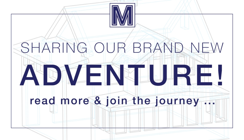 Sharing Our Brand New Adventure