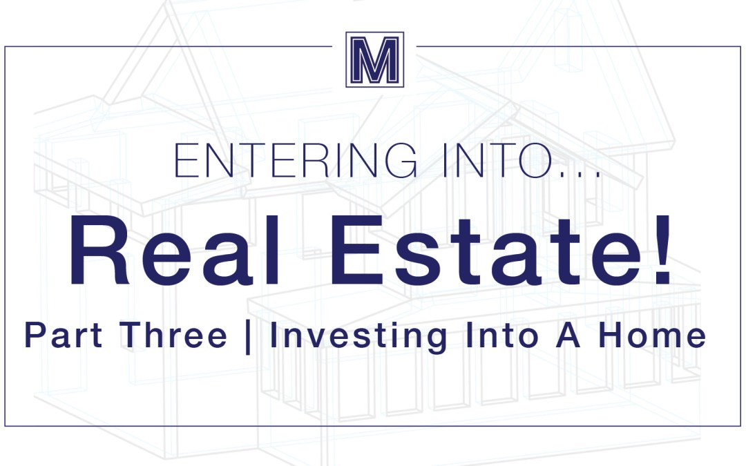 Investing Into A Home