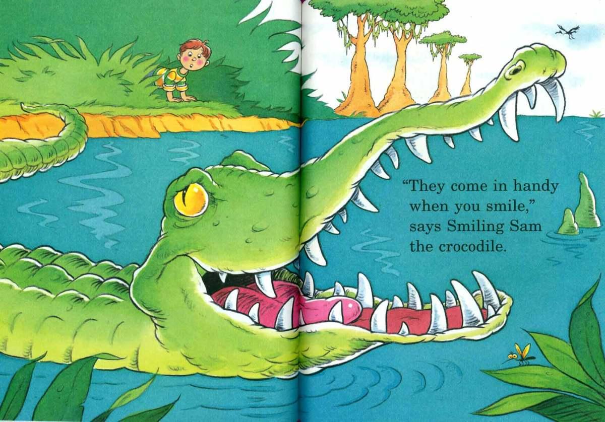 Doctor Seuss The Tooth Book Spread Three – Joe Mathieu
