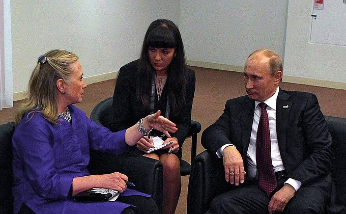 Image result for hillary putin