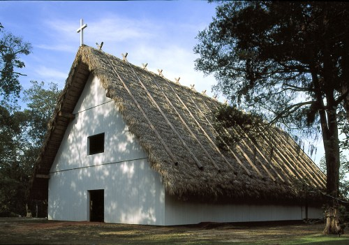 Mission San Luis is said to be the only mission in Florida that has living descendants, which as you guessed are from the Apalachee Indian tribe.