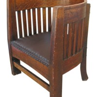 Antique Barrel Chair | Antique Furniture