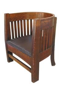 Plail Brothers Barrel Back Chair F134 - joenevo