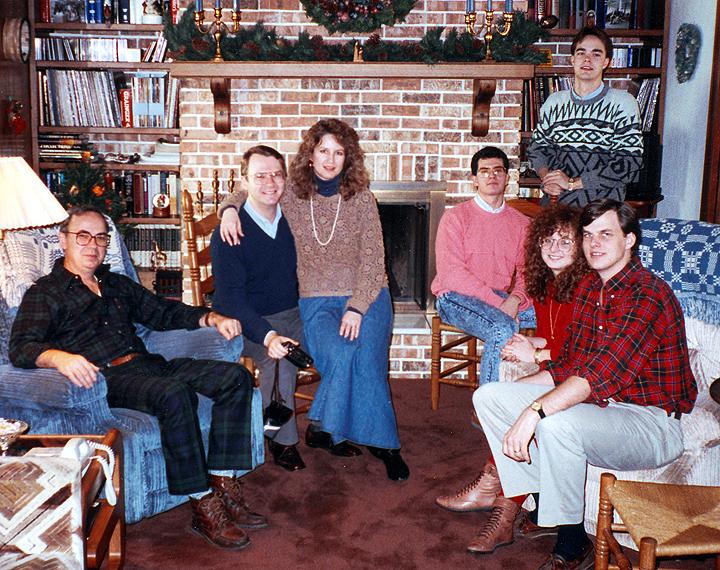 Don Joe Cecelia Scott John  Dec 1990