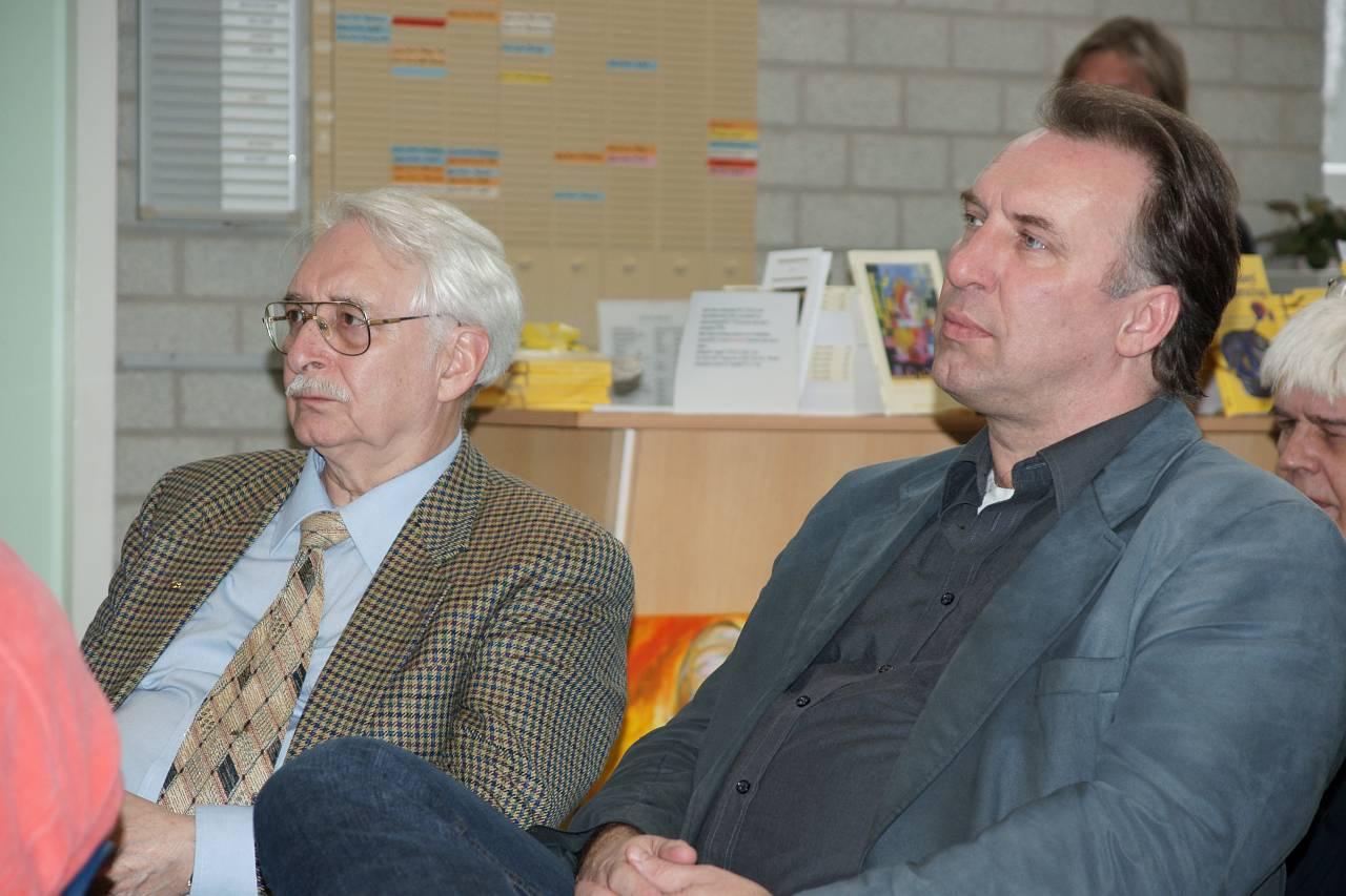 Erik van der Waal en Ghislain Duchateau
