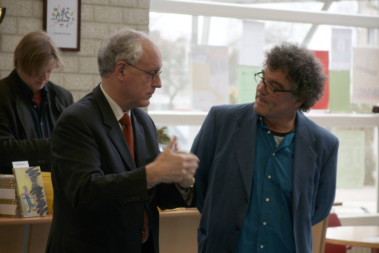 Jan de Wit en Joep Zander (foto Peter vd Wiel)