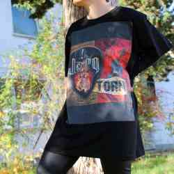 "T-Shirt ""Torn"" bk XL"